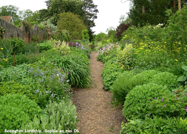 Benington lordship for Jardin anglais mixed border