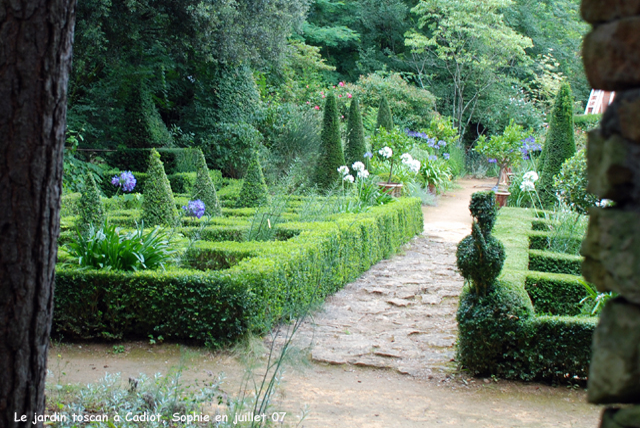 Les jardins de buis et toscans cadiot - Les jardins de sophie xonrupt longemer ...