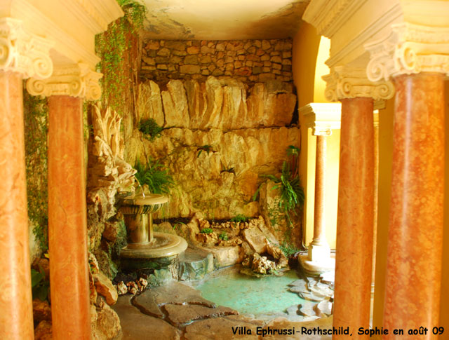 Villa Ephrussi-Rothschild: le jardin espagnol