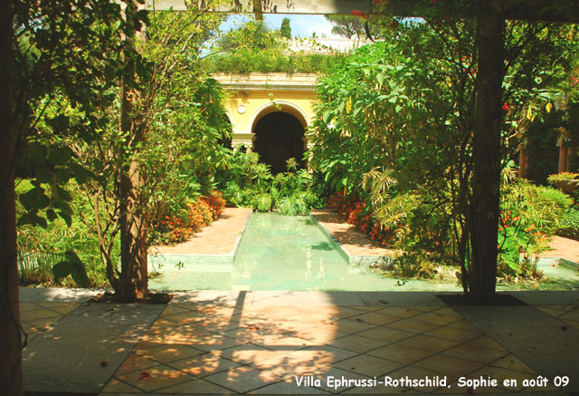 Villa ephrussi rothschild le jardin espagnol for Jardin en espagnol