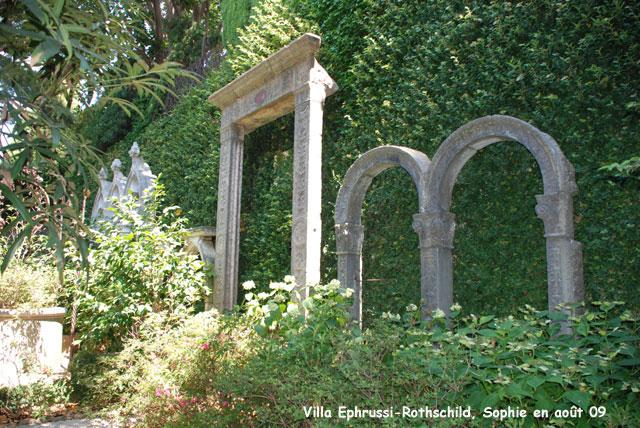 Villa ephrussi rothschild le jardin lapidaire - Maison ephrussi de rothschild ...