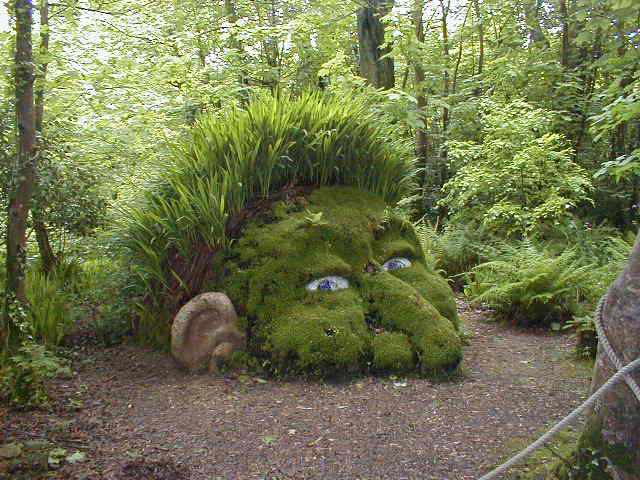 Lost garden of heligan for Baraque jardin