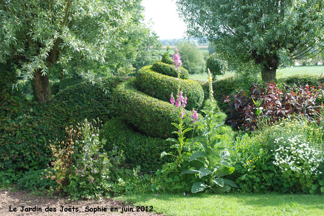 Le plan du jardin des jo ts for Jardin ombre et lumiere