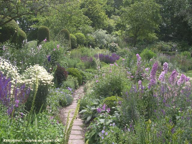 Le jardin du kempenhof le mixed border en t for Jardin anglais mixed border