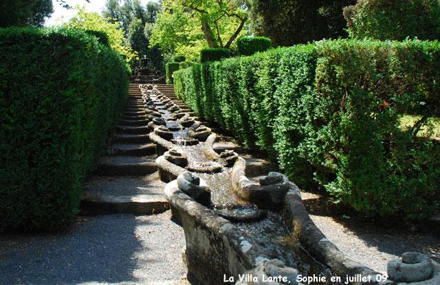 La villa lante histoire et description du jardin - Bassin fontaine pour terrasse colombes ...