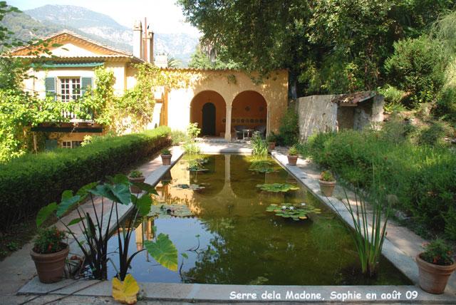 Serre de la madone terrasse ib ro mauresque for Jardin hispano mauresque