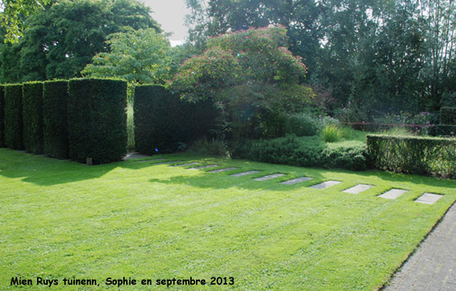 Geknipte tuin (le jardin ajouré).
