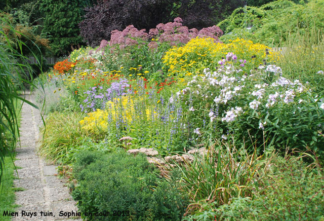 Vieux jardin d 39 essai for Jardin anglais mixed border