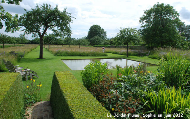 Le bassin du jardin plume for Le jardin plume