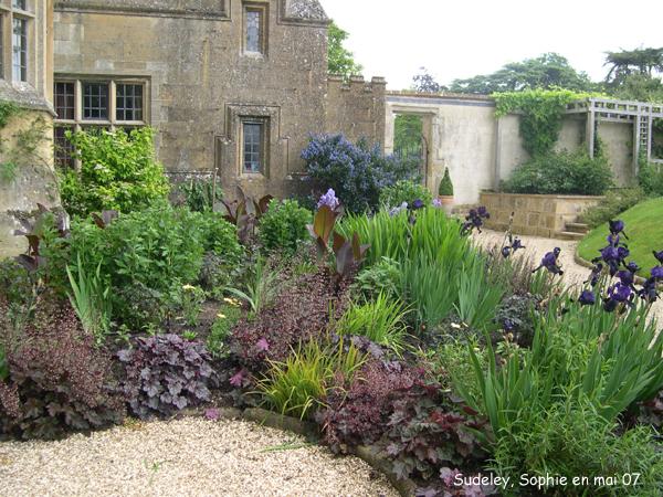Le petit jardin pourpre sudeley castle for Le petit jardin